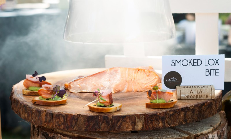Smoked Salmon Appetizer Station from Canyon Catering