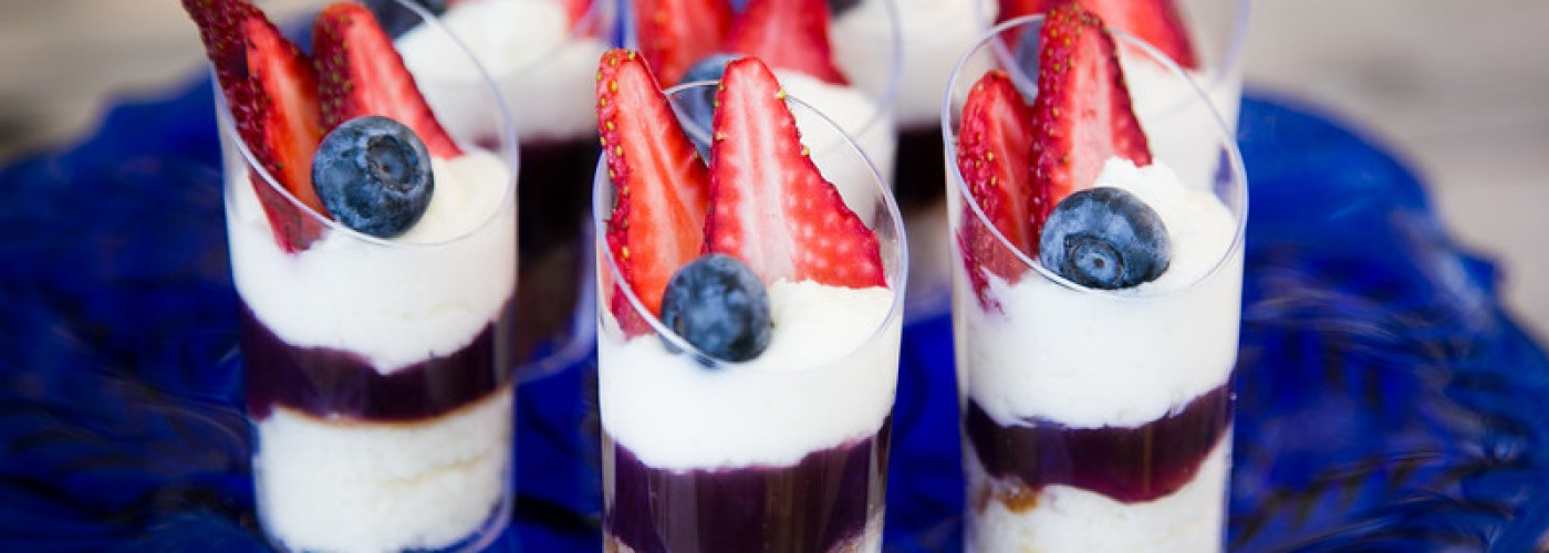 Event Catering Dessert Shots by Canyon Catering