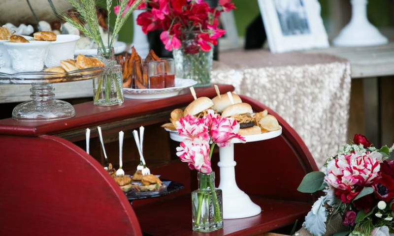 Sample Catering Menu from Canyon Catering in Anaheim, CA