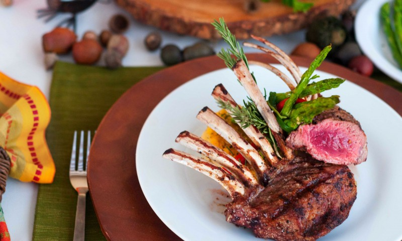 Rack of Lamb Entree Catering Services - Canyon Catering