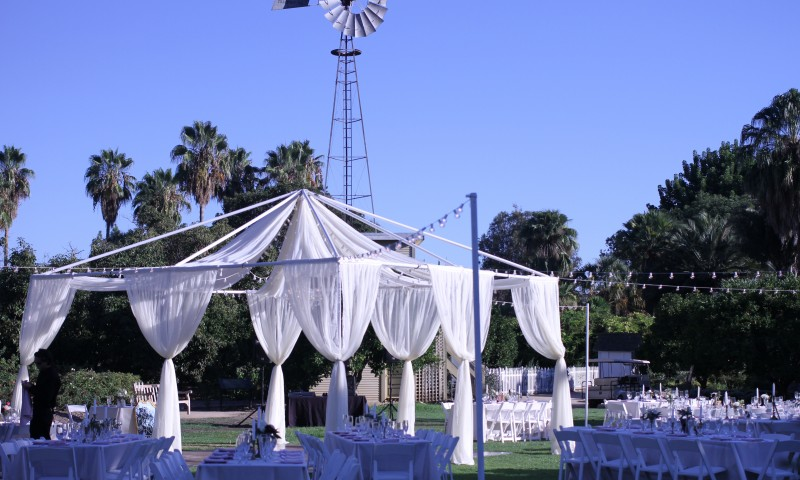 Fullerton Arboretum Wedding Catering Venue by Canyon Catering
