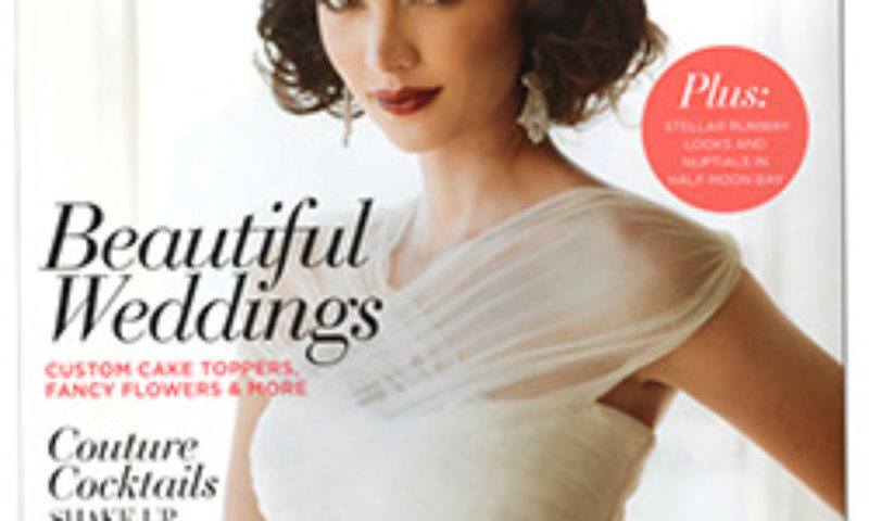 California Wedding Day Magazine Cover